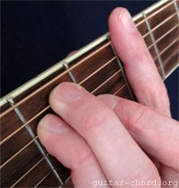 barre chord shape