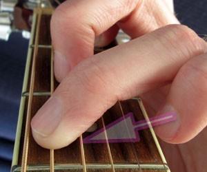 c chord in close up